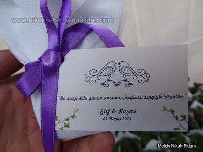 çiçek nikah fidanı İzmir Elif Başar - 2