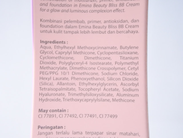 Emina Beauty Bliss BB Cream
