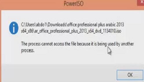 خطوة بسيطة و سريعة لتشغيل الملفات في حالة منعك نظام التشغيل من ذالك
