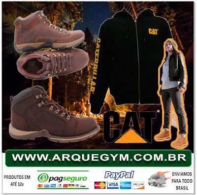 4233447de2 As botas da marca Caterpillar são muito procuradas por oferecer um produto  de qualidade a muitos anos no mercado americano