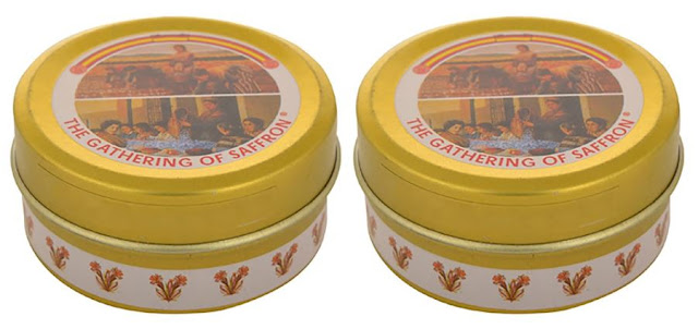 The Gathering Spanish Saffron Kesar Zafran Pure Imported - 2g (Pack of 2)