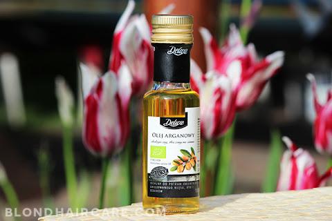 Spożywczy olej arganowy z Lidla - czy nadaje się do olejowania włosów? - czytaj dalej »