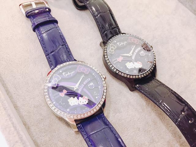GALTISCOPIO, 迦堤, Sanrio, HelloKitty, 腕錶, Swarovski, 水晶, fashion, lovecath, catherine, ., mixandmatch, fashionblogger, 夏沫, watch