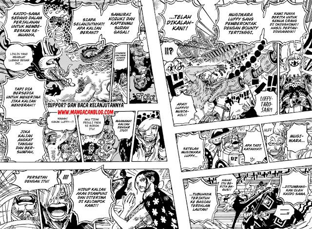 Manga One Piece Chapter 1014 Bahasa Indonesia
