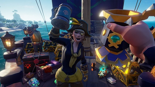 Sea of Thieves Legends of the Sea update is available