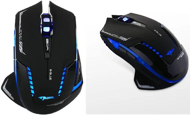 Gaming Mouse, E-Blue Mazer II 2500 DPI Wireless Review