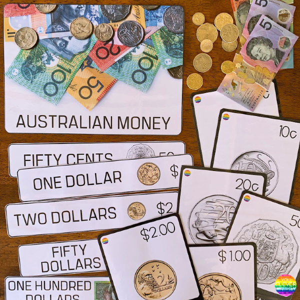 Australian Money Word Wall + Poster Pack | you clever monkey