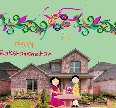 Happy Raksha Bandhan Greetings Cards