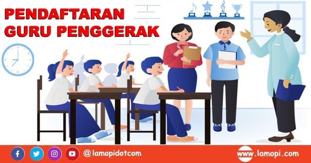 Pendaftaran Pendidikan Guru Penggerak