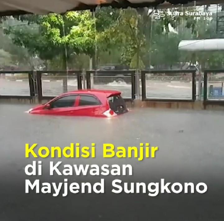 Sepi Pemberitaan, Begini Penampakkan Banjir Surabaya