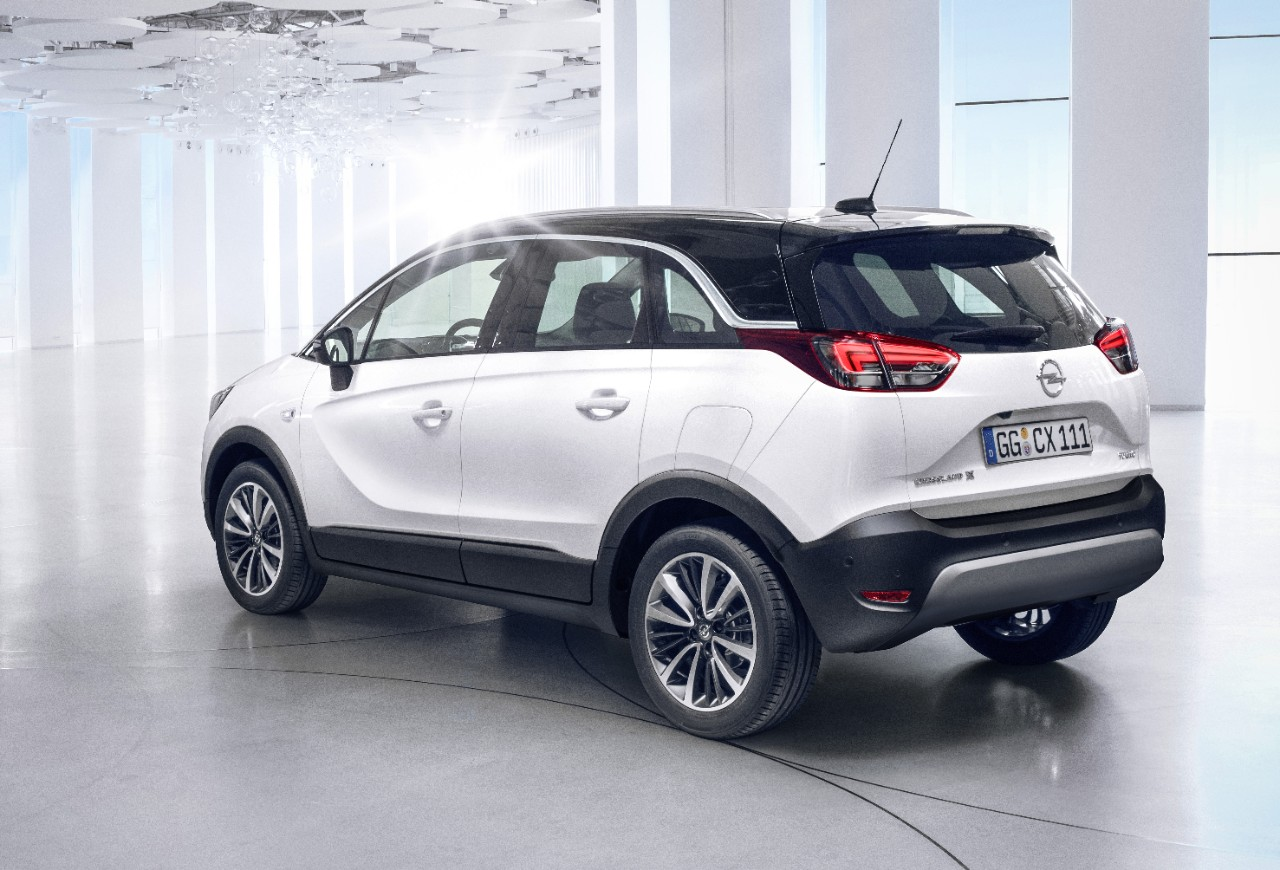Το νέο Opel Crossland X λανσάρεται στην ανερχόμενη κατηγορία CUV/SUV