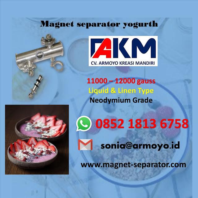 magnet liquid yogurth