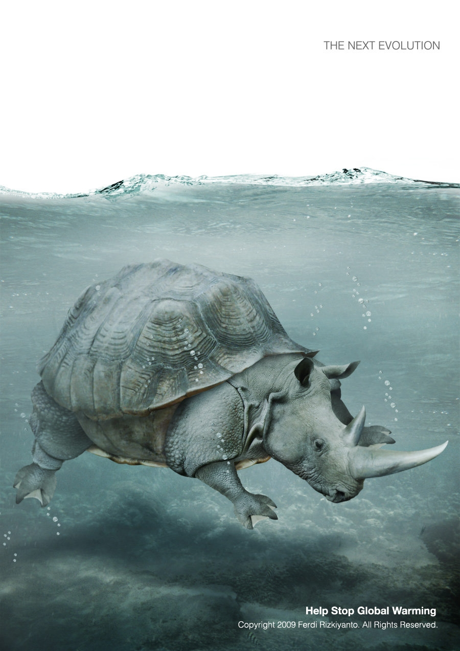 09-Global-Warming-Evolution-2-Ferdi-Rizkiyanto-Surreal-and-Satirical-Photo-Manipulation-www-designstack-co