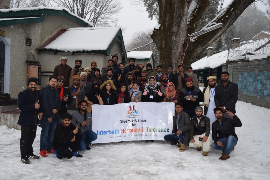 Diversity Camp, YDF
