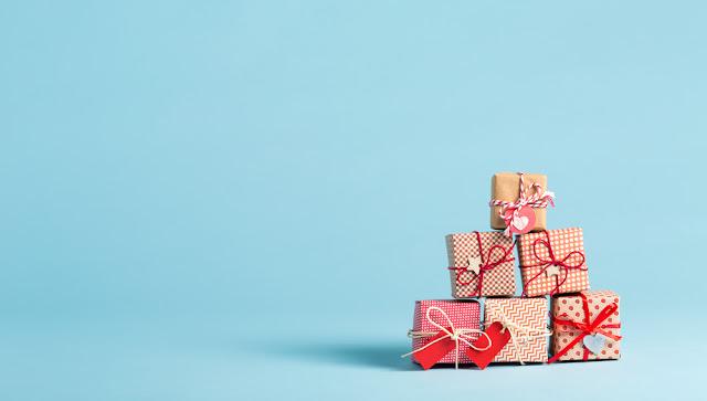 verpakkingen, cadeau's, pakjes, GV Center