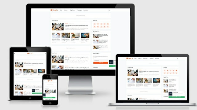 Cleanify, Template Blogger Responsive Free