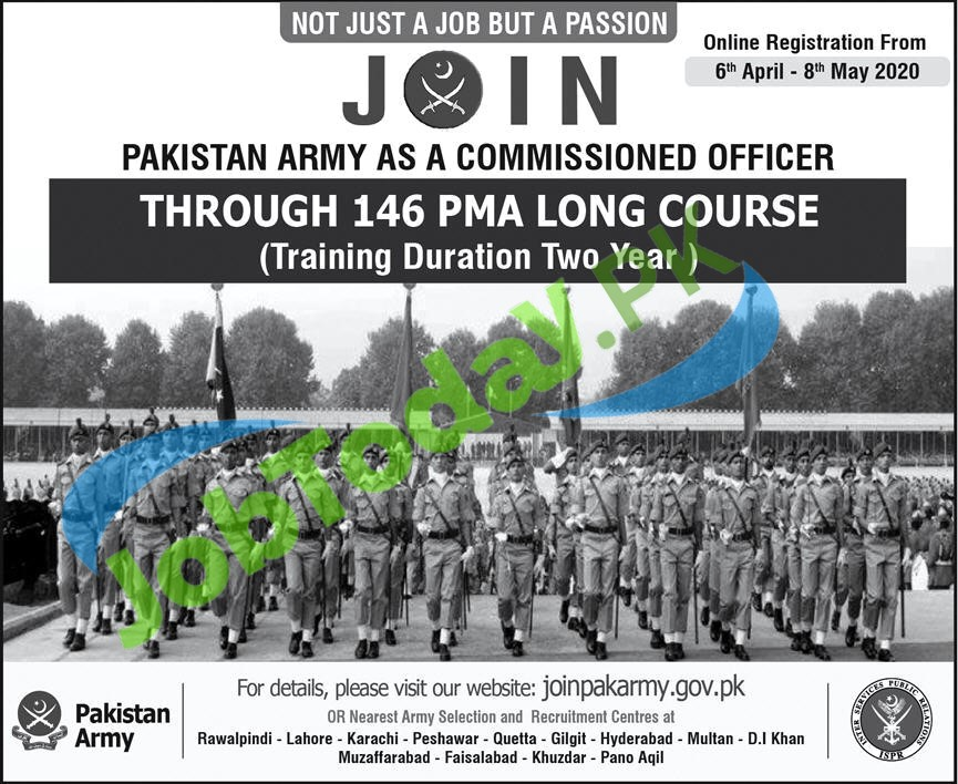 PMA Long Course 146 in PAK Army 2020 | Commission Officer