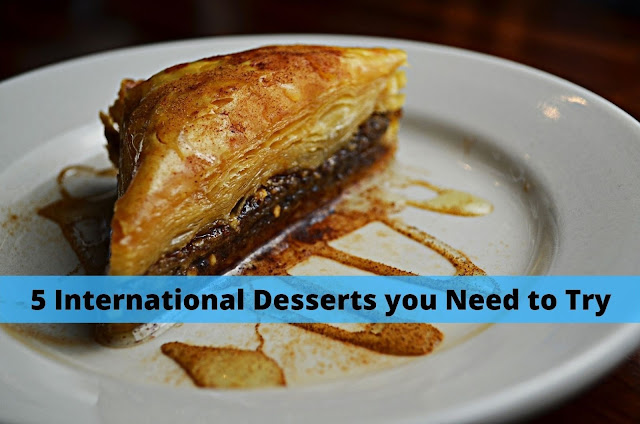 International Desserts you Need to Try, Header