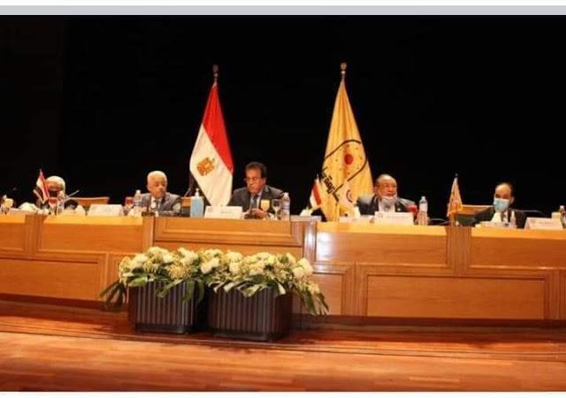 عطا الله يشارك في اجتماع المجلس الأعلى لشئون التعليم والطلاب بالمجلس الأعلى للجامعات