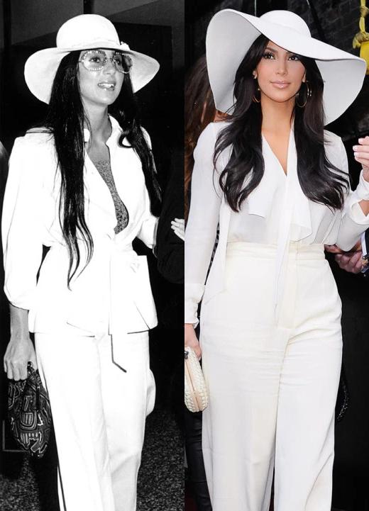 Cher News Gallery 11 Times Kim Kardashian Copied Idol Cher S Fashion Style