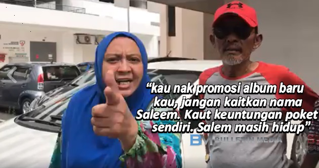 'Kalau Berani, Datang Sini!' – Isteri Saleem Mengamuk Beri  Amaran Kepada Syarikat Rakaman Syafiq Farhain [VIDEO]