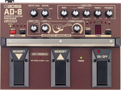Phơ BOSS AD-8 cho đàn guitar thùng
