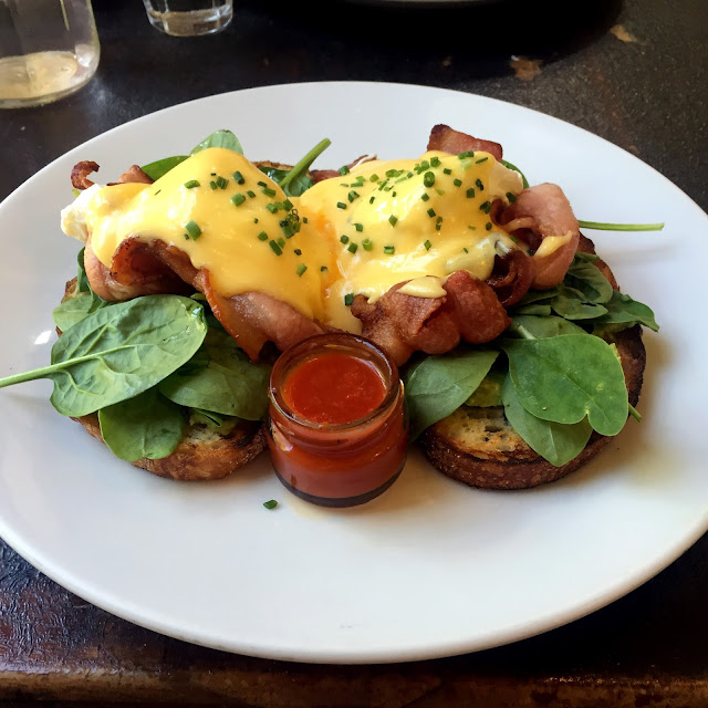 Recent Sydney Food Adventures Two Good Eggs Surry Hills Eggs Benedict