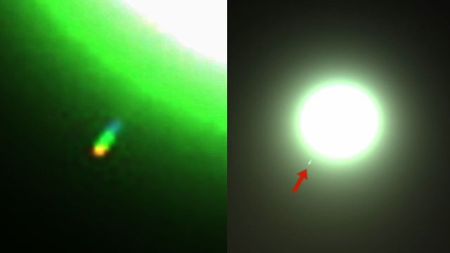 Perseverance mars rover caught UFO near the Sun  Ufo-sun%2Bmars-rover