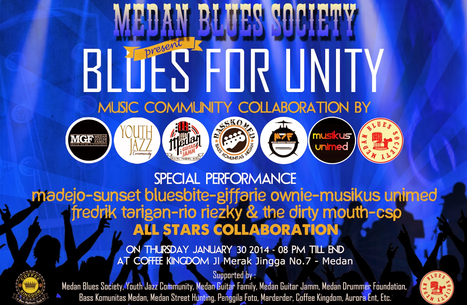 Medan Blues Society, Present: Blues For Unity