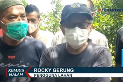 Bersama Ribuan Warga Senasib, Rocky Gerung Akan Hadapi PT Sentul City