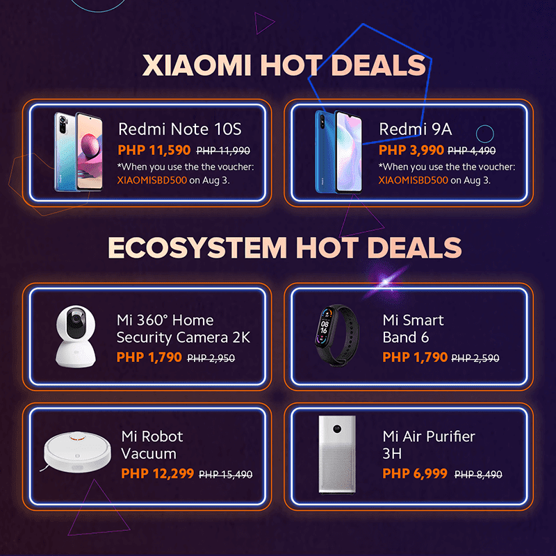 The best deals available