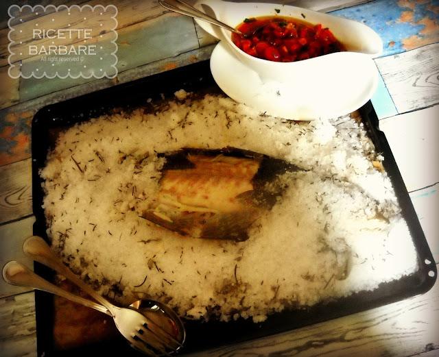 Ricette barbare for Cucinare branzino 5 kg