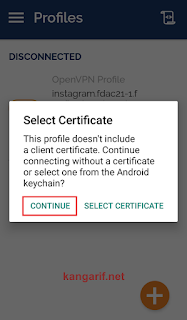 Cara Membuat Config OpenVPN by.U Topping Instagram
