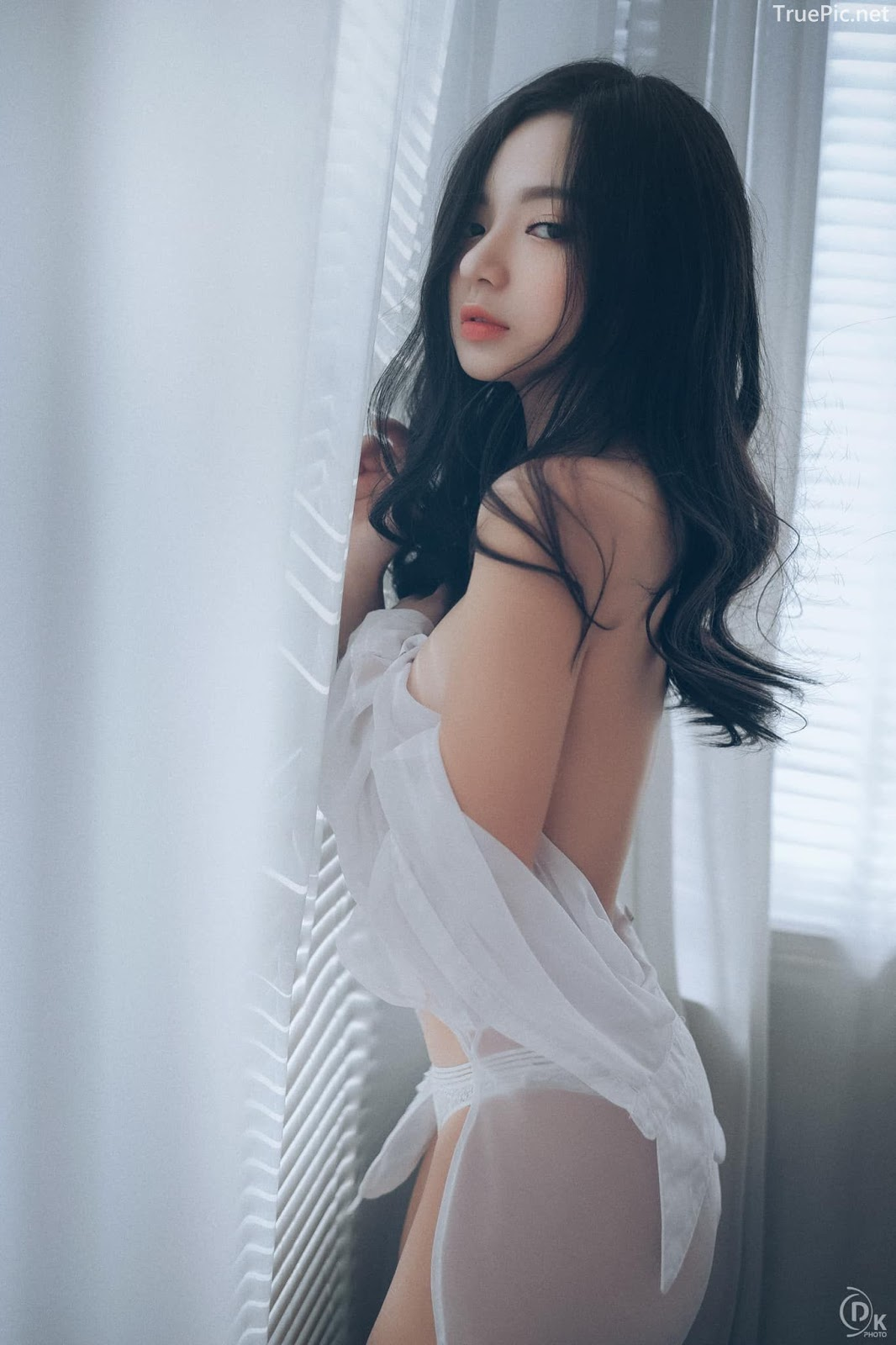 Vietnamese Sexy Model - Vu Ngoc Kim Chi - Beautiful in white - TruePic.net- Picture 4