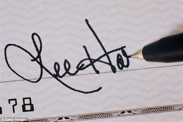 حجم التوقيع