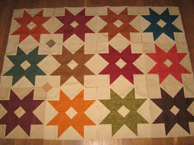Enlarged variation of Kim Diehl's Barn Stars