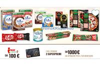 Concorso Iper Nestlè : vinci fino a 1000 euro di  buoni spesa