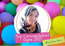 TOP COMMENTATOR OGOS 2021