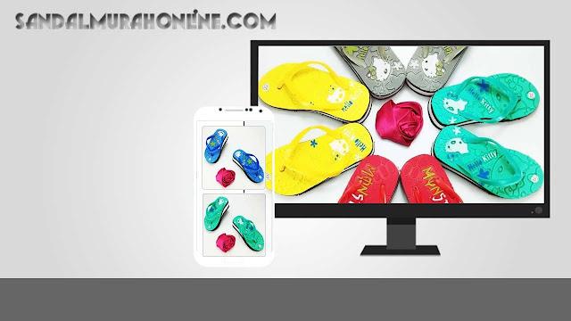 Grosir Sandal Online - AB HK Tebal Baby Murah