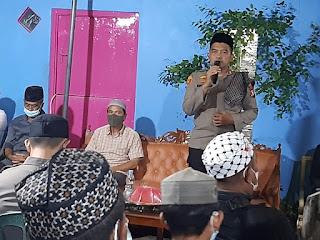 Kapolres Pelabuhan Makassar berikan Ceramah Ta'ziah di Barukang