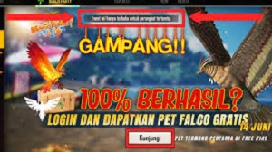 Cara Mendapatkan Pet Falcon Di FF