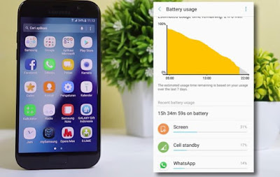 Spesifikasi Baterai Samsung Galaxy a5 2017