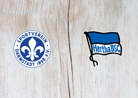 Darmstadt vs Hertha Berlin - Highlights 30 October 2018