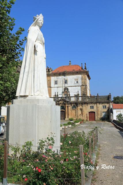 Reina Santa Isabel, Monasterio de Santa Clara-a-Nova, Coimbra