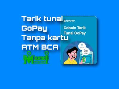 Tarik tunai gopay tanpa kartu ATM