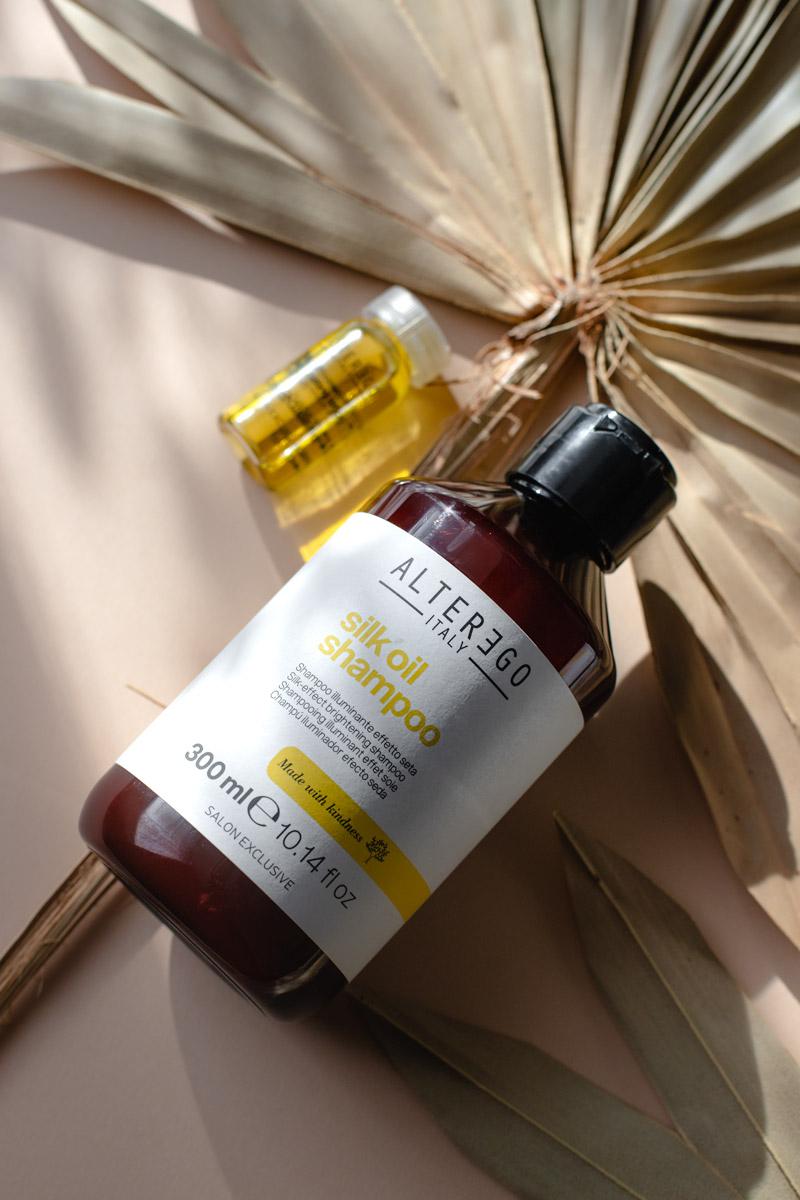 Alter Ego Silk Oil Szampon nadający efekt jedwabistych włosów