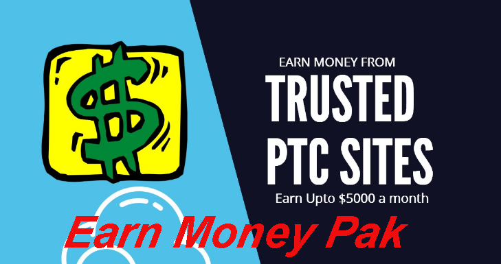 Earn Money Pak: Earn Money with PTC Sites - Top 15 PTC Sites