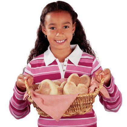 English Muffin Hearts