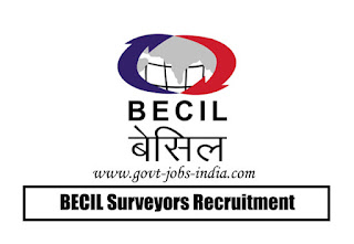 BECIL Surveyors Recruitment 2020