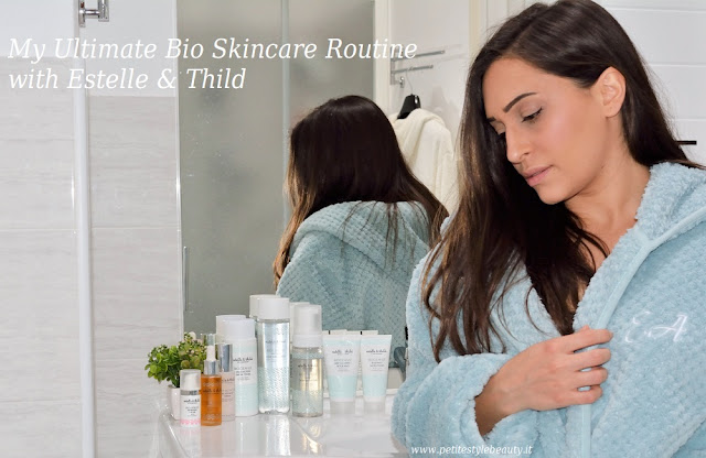 Find out the ultimate steps for a healthier skin with these amazing bio and eco-certified products by the brand Estelle & Thild. #estellethild #bioskincare #ultimateskincareroutine #organiccosmetics #bioactiveskincare #certifiedorganic #sustainablebeauty #consciouschoices #biocleanse #biohydrate #superbioactive #bestskincareproducts #healthierskin